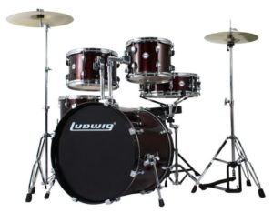 0001465 ludwig accent drive set lc1754 wine red dobfelszereles