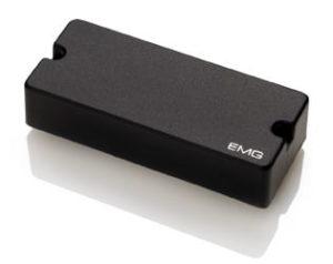 0001798 emg 35dc extended szeria 4 huros basszusgitar pickup fekete