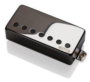 0001893 emg 57 7h black chrome humbucking gitar pickup 7 huroshoz
