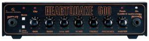 Soundsation HEARTQUAKE-500 500W RMS Class-D bass head