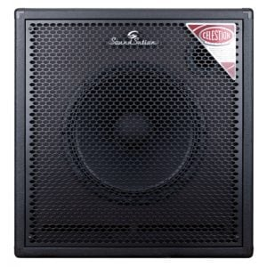"Soundsation BC115-C 1x15"" Bass cabinet equipped with Celestion TRUEVOX 1525."