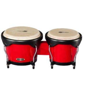 Soundsation SB01-RD Siam tölgy bongók (15cm + 18cm)