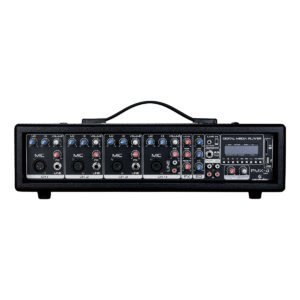 Soundsation PMX-4MKII 6-Channel powered mixer with effect and MP3 player