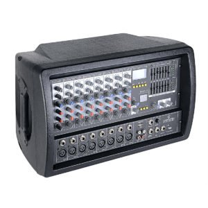 Soundsation PMX-8UBT 8-channels 300W max. powered mixer with Bluetooth™