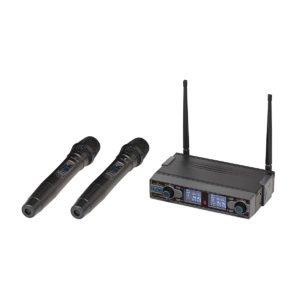 Soundsation WF-D290HH UHF Dual Digital Wireless Microphone System