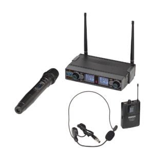 Soundsation WF-D290HP UHF Dual Digital Wireless Microphone System