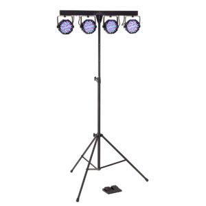 Soundsation 4LEDKIT-PARTY Complete 4-PAR LED Lighting Kit
