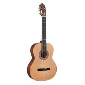 Toledo ISABELA 44COP Tömör cédrus fedlapos klasszikus gitár nyílt porusú szatén felülettel