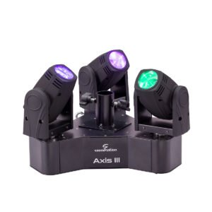 Soundsation AXIS III 3-Head Moving Light with 3 x 10W 4IN1 CREE LEDs