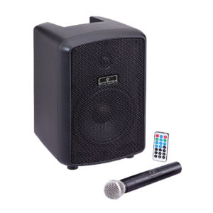 """Soundsation HYPER PLAY 6AMW 6.5"""" Portable PA System with UHF Wireless MIC"""