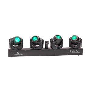 Soundsation AXIS IV 4x32W RGBW LED 4 Head Beam Moving Head