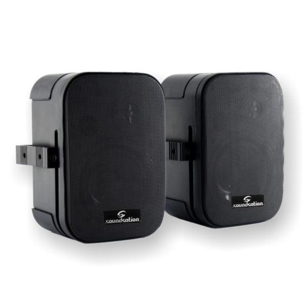 """Soundsation SPWM-05V 100 Volt passzív hangfalpár 5"""" mélyhangszóróval és falitartóval"""