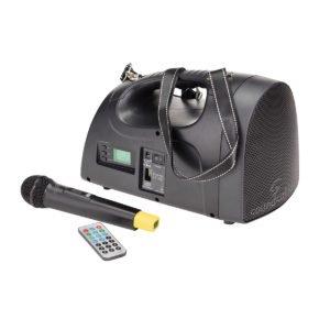 Soundsation POCKETLIVE U16HBT Portable Amplifier with UHF 16-channel wireless system