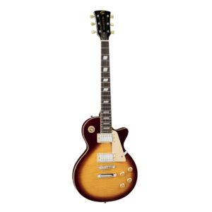 Soundsation MILESTONE-PRO VSB-FM Ívelt fedlapú cutaway elektromos gitár 2 humbucker pickuppal és ragasztott nyakkal