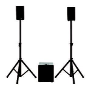 Soundsation LIVEMAKER 1221 DSP 1000W 2.1 Portable PA System with DSP