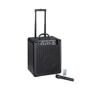 Soundsation BLACKPORT-80BTRW Battery Powered PA System with trolley
