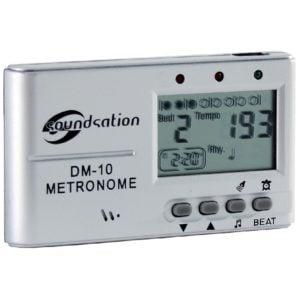 Soundsation DM-10 Kompakt metronóm beépített hangszóróval és fülhallgató kimenettel