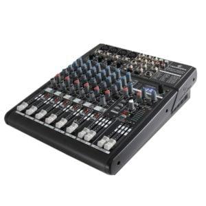 Soundsation NEOMIX-402UFX 6 csatornás kompakt mixer zajmentes elõerõsítõvel