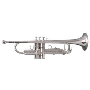 Soundsation STPSL-10 Bb trumpet in silver plated finish