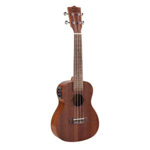 Soundsation MPUK-120ME MAUI PRO elektroakusztikus koncert ukulele tokkal (lucfenyõ fedlappal)