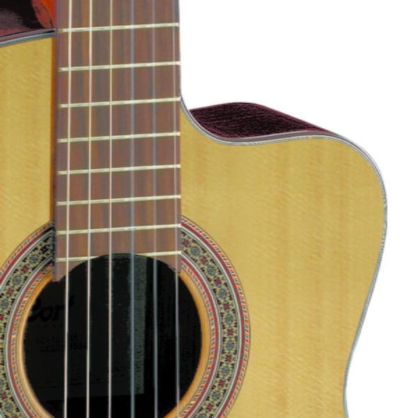 Co-AC120CE-OP Cort klasszikus gitár elektronikával
