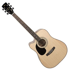 Co-AD880CE-LH-NS Cort akusztikus gitár elektronikával