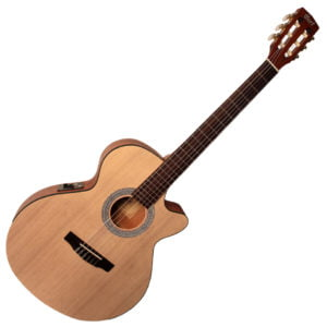 Co-CEC-1-NAT Cort klasszikus gitár elektronikával