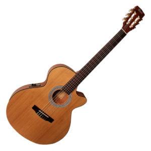 Co-CEC-1-OP Cort klasszikus gitár elektronikával