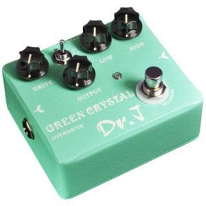 Dr.J effektpedál - Green Crystal Overdrive J-DrJ-50