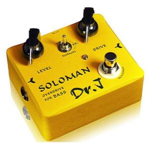 Dr.J effektpedál - Soloman Bass Overdrive J-DrJ-52