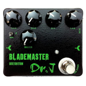 Dr.J effektpedál - Blademaster Distortion J-DrJ-58