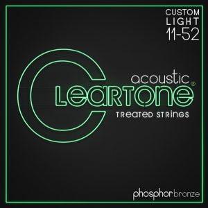 Cleartone ak.húr foszfor bronz Custom Light - 11-52 CT-7411