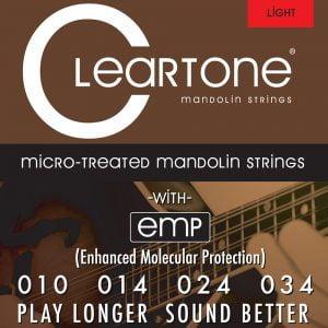 Cleartone mandolin húr Light - 10-34 CT-7510