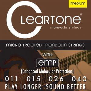Cleartone mandolin húr Medium - 11-40 CT-7511