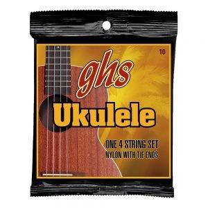 GHS-10 GHS ukulele húr - clear nylon