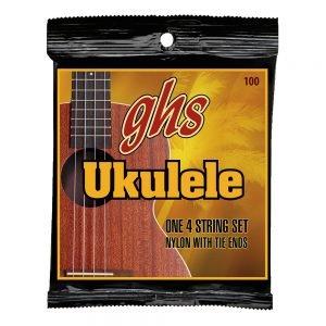 GHS-100 GHS ukulele húr - black nylon