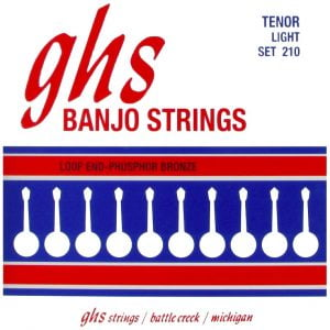 GHS-210 GHS tenor banjo húr