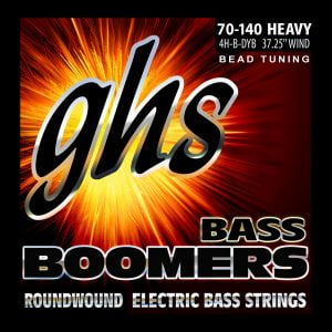 GHS-4H-B-DYB GHS el.basszushúr - BEAD tuned Boomers