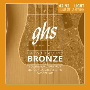 GHS-4L-RBB GHS el.basszushúr - Pressurewound