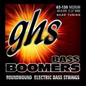 GHS-4M-B-DYB GHS el.basszushúr - BEAD tuned Boomers