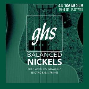 GHS-4M-NB GHS el.basszushúr - Balanced Nickels