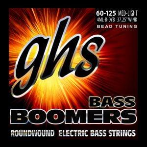 GHS-4ML-B-DYB GHS el.basszushúr - BEAD Tuned Boomers