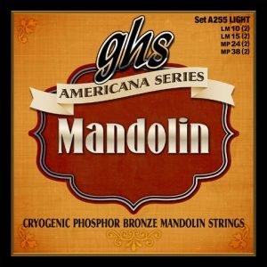 GHS-A255 GHS mandolin húr Light