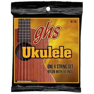 GHS-H-10 GHS ukulele húr - black nylon