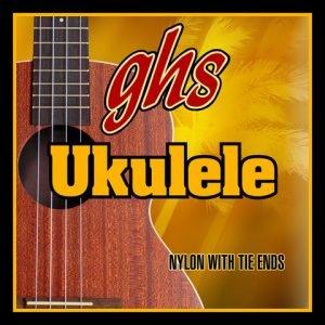 GHS-H-100 GHS ukulele húr - black nylon